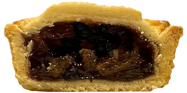 M&S Collection Mince Pies Cross Section